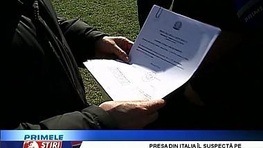 Bombă în fotbalul moldovenesc. Italianul Pietro Belardelli vrea să preia formaţia Rapid Ghidighici şi să construiască Stadionul Republican