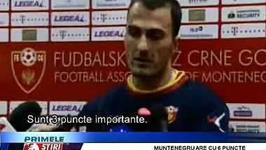 Nicolae Timofti mizează pe victoria naţionalei noastre în partida cu Muntenegru