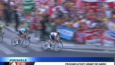 Ciclistul britanic Chris Froome a câştigat ediţia cu numărul 100 a Turului Franţei!
