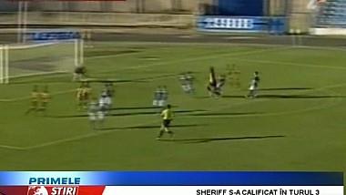 Sheriff Tiraspol s-a calificat în stil de mare echipă în turul trei preliminar al Ligii Campionilor