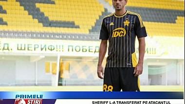 Sheriff Tiraspol a mai transferat un jucător brazilian