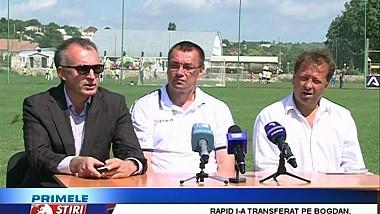 Petru Efros este noul manager general al echipei ''Rapid'' Ghidighici