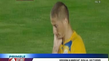 Un jucător al naţionalei României s-a făcut de rîs in campionatul intern