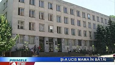 Un bărbat din Râşcani va sta 11 ani după gratii, pentru că şi-a ucis mama în bătăi