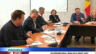 Guvernatorul Băncii Naţionale, Dorin Drăguţanu nu s-a prezentat la audierile Comisiei economice a Parlamentului