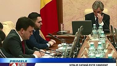 Vitalie Catană este candidatul oficial al liberal-reformatorilor la şefia Ministerului Apărării