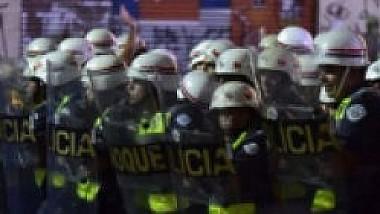 Proteste violente în Brazilia: manifestanți au vandalizat o bancă, iar forțele de ordine au intervenit cu gaze lacrimogene