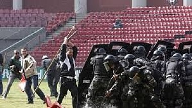 Suporterii brazilieni au încercat să ia cu asalt centrul de presă de pe Maracana