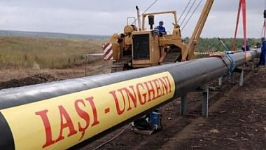 Gazoductul Iași-Ungheni se va prelungi până la Chișinău