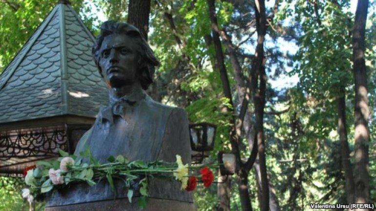 """Ziua marelui poet Mihai Eminescu. În Grădina Publică """"Ștefan cel Mare și Sfânt"""" din Capitală vor fi organizate mai multe evenimente"""