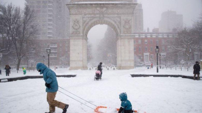 """""""Stella"""" face ravagii. Opt state americane, afectate de o furtună de zăpadă"""