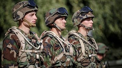 День призывника. Показательное выступление для будущих солдат