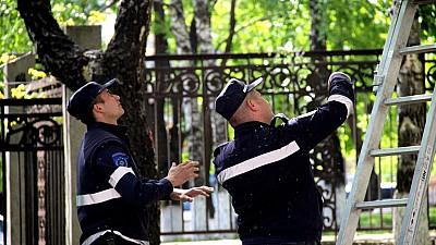 Всеобщая мобилизация. Третий день подряд в Кишиневе ликвидируют последствия стихии
