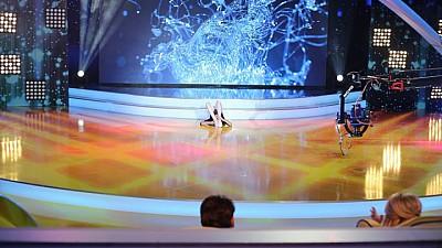 WOW Kids: Mica gimnastă, Xenia Tulcii, a impresionat prin elasticitatea sa
