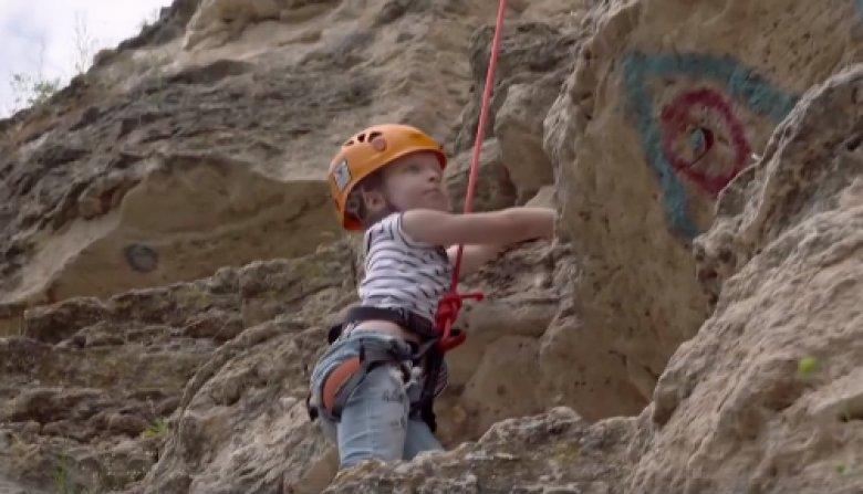 Micii alpinişti, în acţiune