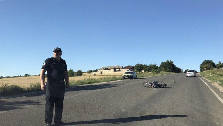 Un motociclist a fost accidentat în raionul Orhei