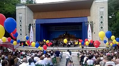 Spectacol de muzică clasică în aer liber la Teatrul Verde din Capitală