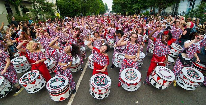 Imaginea zilei: Cel mai mare festival de stradă al Europei, Notting Hill, la a 51-a ediţie