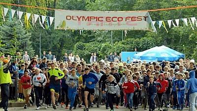 На пробежку становись! OLYMPIC ECOFEST 2017 продвигает спорт и экологию