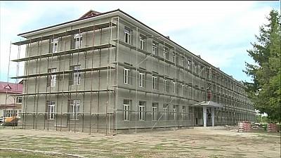 Vacanţă forţată pentru elevii gimnaziului din satul Goteşti. 350 de elevi nu pot reveni la ore, din cauza reparaţiei