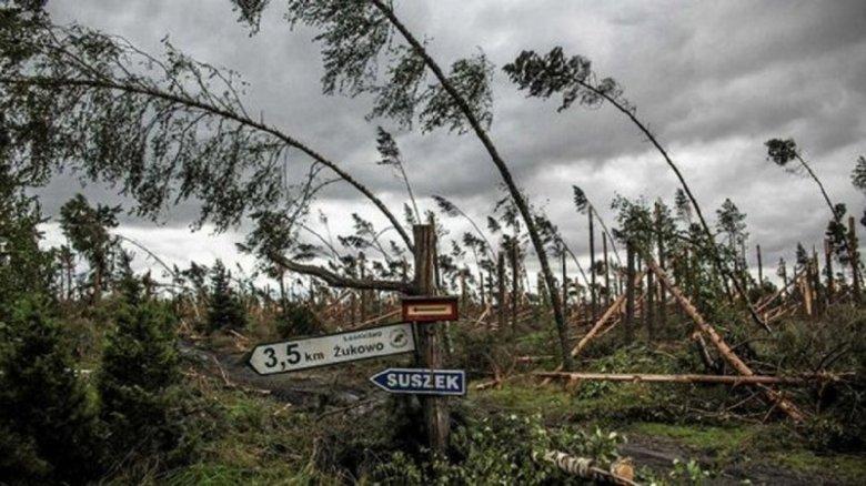 Furtuna Xavier a ajuns în Polonia. Doi oameni au decedat, iar alţi 800.000 au rămas în beznă
