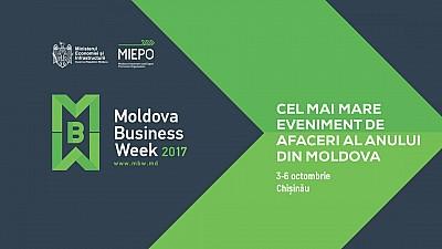 Moldova Business Week 2017. Statul va oferi 40.000 de lei pentru fiecare loc de muncă