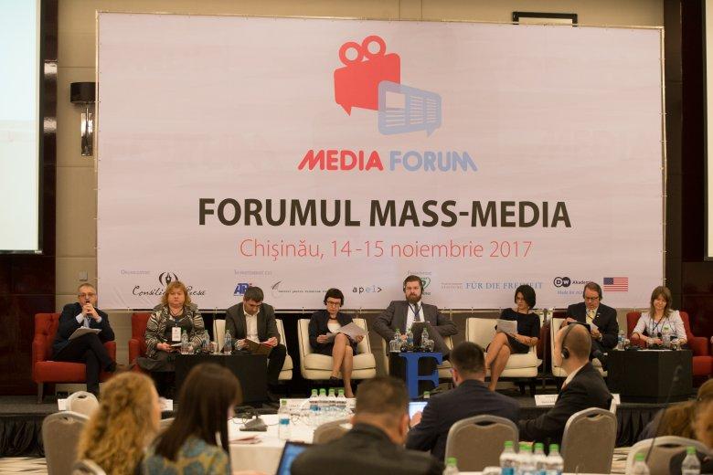 Forumul Mass-Media s-a desfășurat la Chișinău. Evenimentul a adunat peste 150 de jurnalişti din ţară