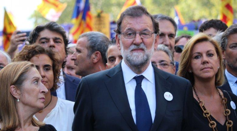 Prima vizită în Catalonia. Premierul spaniol efectuează o vizită de lucru la Barcelona