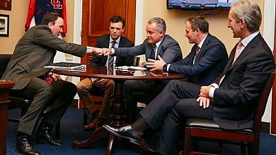 Congresmenii americani sunt interesaţi de reformele din Republica Moldova