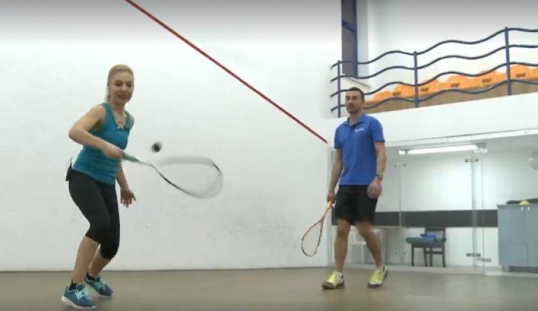 Squash-ul, declarat de revista Forbes cel mai sănătos sport. Acesta poate înlocui un antrenament cardio