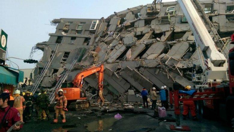 CUTREMUR DEVASTATOR în Taiwan. Cel puţin şapte oameni au murit, iar alţi peste 250 au fost răniţi