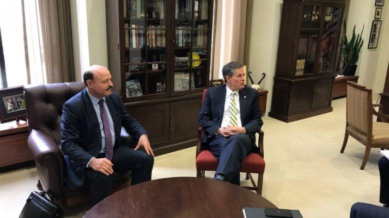 Valeriu Ghilețchi, în dialog cu senatorii americani: SUA și-a exprimat disponibilitatea de a susține țara noastră