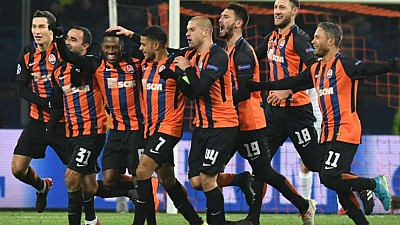 Victorie importantă pentru Şahtior Donețk. Ucrainenii au învins cu 2:1 echipa AS Roma