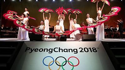 Coreea de Nord și cea de Sud au defilat sub acelaşi steag la ceremonia de deschidere a Jocurilor Olimpice de la Pyeongchang