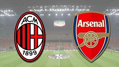 Cu-n picior în finală. Arsenal Londra a câştigat cu 2:0 manșa tur cu AC Milan