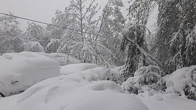 Непогода у соседей. Сложная ситуация из-за снега в соседней Румынии и Украине