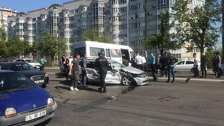 Цепная авария. В ДТП пострадали 4 человека, их доставили в БСПМ