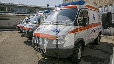 Zece ambulanţe moderne, oferite Serviciului Medical de Urgenţă, vor ajunge în mai multe puncte medicale din Moldova