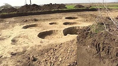 Историческая находка. В Комрате во время раскопок была найдена римская амфора