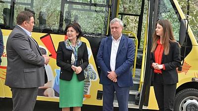 Microbuz special pentru copiii din Trușeni, pentru a ajunge la școlile și grădinițele din Capitală