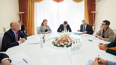 Pavel Filip, după întrevederea cu oficialii de la Berna: Moldova va primi asistenţă tehnică în valoare de peste 800 de milioane de lei din partea Elveției