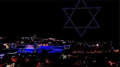 Imaginea zilei: În Israel a avut loc o ceremonie de comerorare a victimelor conflictelor armate din ultima perioadă