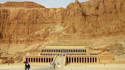 Imaginea zilei: Cea mai atractivă zonă a Egiptului, văzută de turiști de la înălțime