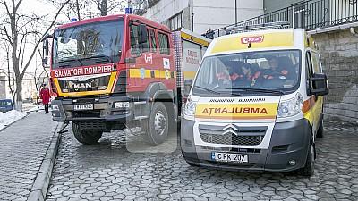 INCENDIU NIMICITOR la Durlești. O femeie de 38 de ani a ajuns la spital cu arsuri grave, după ce locuinţa sa a luat foc