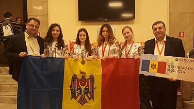Trei eleve din Moldova au obținut trei premii la Olimpiada Europeană de Matematică pentru Fete