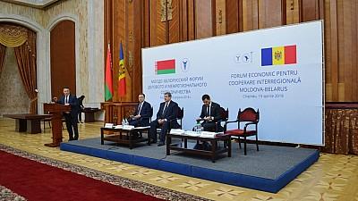 FORUM MOLDO-BELARUS. Antreprenorii belaruşi au semnat 16 contracte în Moldova