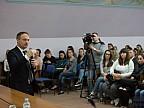 Andrian Candu, luat la întrebări de studenţii de la ULIM. Ce sfaturi le-a dat preşedintele Parlamentului tinerilor