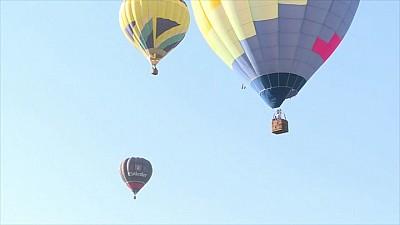 Festivalul Internaţional Aerobis Baloon Fiesta se desfășoară la Orheiul Vechi. Baloanele cu aer cald au împânzit cerul