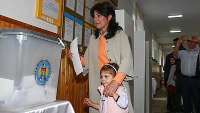 Alegeri locale 2018.  Silvia Radu: Am votat pentru ca locuitorii Chişinăului să aibă un conducător care să muncescă pentru oraş și pentru locuitorii săi