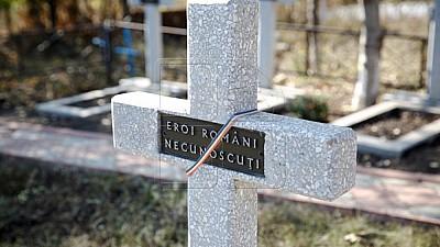 În memoria eroilor căzuţi! Cimitirul de Onoare al Ostaşilor Români căzuți pe câmpul de luptă în timpul celui de-al Doilea Război Mondial, reinaugurat